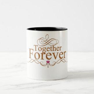 Together Forever Two-Tone Coffee Mug