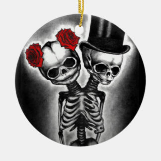 Together in Death Ceramic Ornament