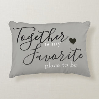 Together is My Favorite Place / Reversible Pillow