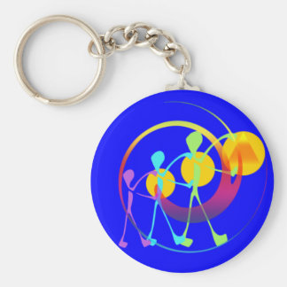 Together one in rainbow light keychain