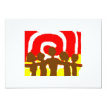 "Together Red Invitation 5"" X 7"" Invitation Card"