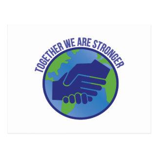 Together Stronger Postcard