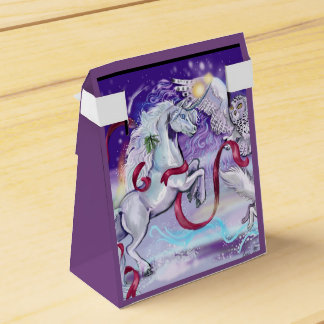 Together we are one Unicorn Favor Box
