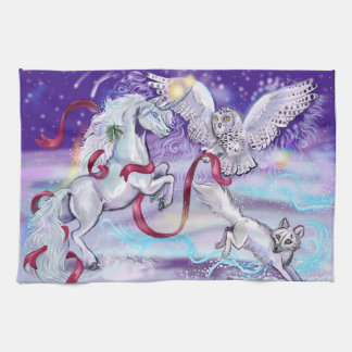 Together we are One Unicorn Kitchen Towel