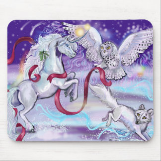 Together we are One Unicorn Mouse Pad