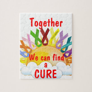 Together we can find a CURE Jigsaw Puzzle