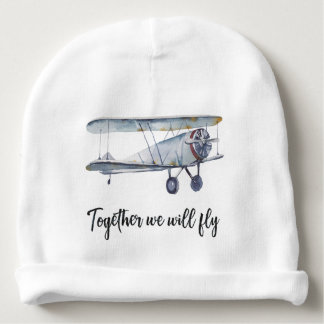 Together we will fly baby beanie
