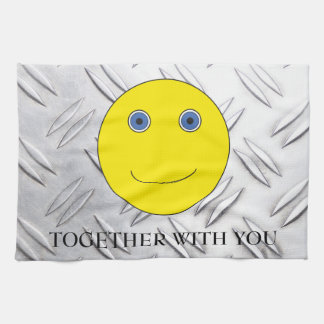 Together with you hand towel