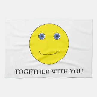 Together with you kitchen towel