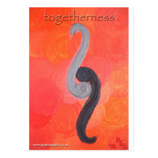 Togetherness Postcard