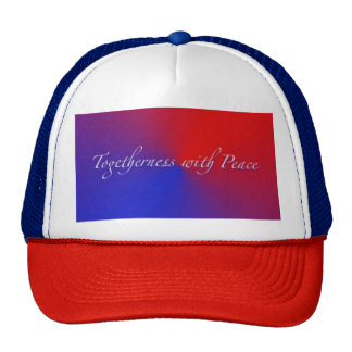 Togetherness with Peace Trucker Hat
