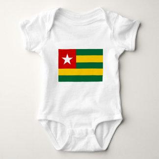 Togo flag baby bodysuit