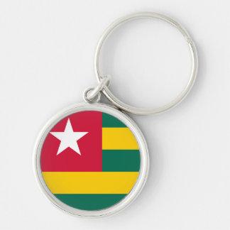 Togo Flag Keychain