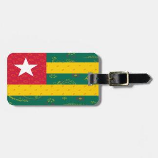 Togo Flag Luggage Tag