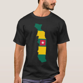 Togo Flag Map T-Shirt
