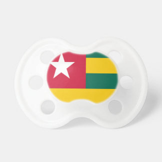 Togo flag pacifiers