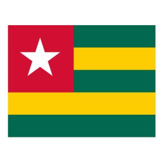 Togo Flag Postcard