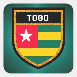 Togo Flag Square Sticker