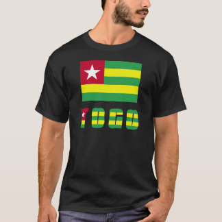 Togo Flag & Word T-Shirt
