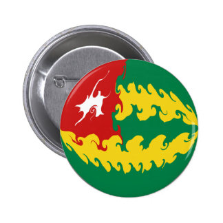 Togo Gnarly Flag Pin