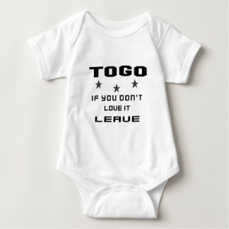 Togo If you don't love it, Leave Baby Bodysuit