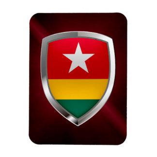 Togo Metallic Emblem Magnet