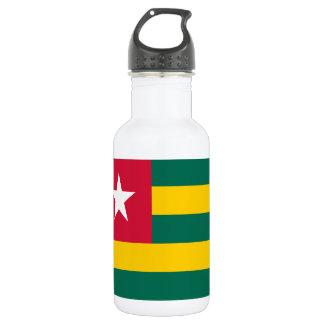 Togo National World Flag 532 Ml Water Bottle