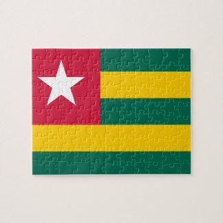Togo National World Flag Jigsaw Puzzle