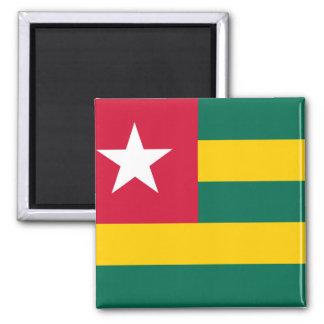 Togo National World Flag Magnet