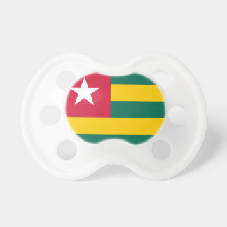 Togo National World Flag Pacifier