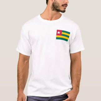 Togo National World Flag T-Shirt