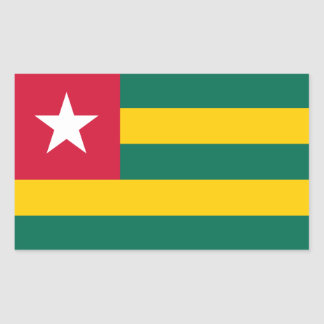 Togo/Togolese Flag Sticker