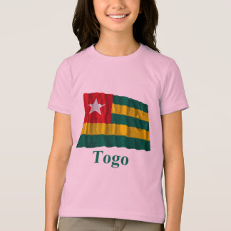 Togo Waving Flag with Name T-Shirt