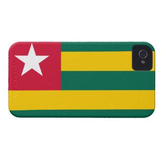 Togolese Flag Case-Mate iPhone 4 Cases