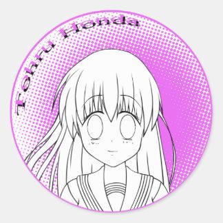 Tohru Honda Color Me Sticker