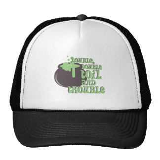 Toil And Trouble Trucker Hat