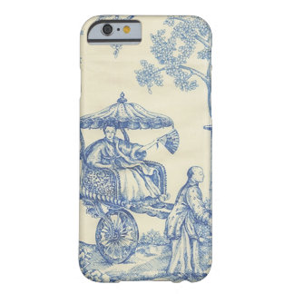 Toile dans bleu et blanc coque iPhone 6 barely there