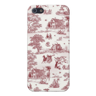 Toile De Jouy - Vintage Afternoon Case For The iPhone 5