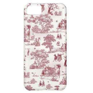 Toile De Jouy - Vintage Afternoon iPhone 5C Cover
