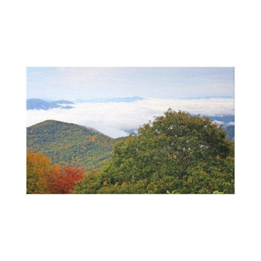 Toile de paysage de montagne toiles tendues
