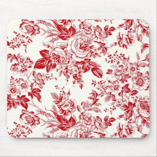 Toile Roses - Mousepad