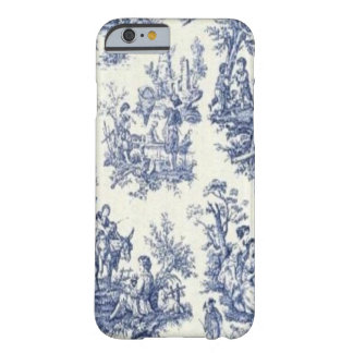 Toile vintage bleu coque barely there iPhone 6