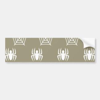 Toiles d'araignées stationnaires pour Halloween Autocollant De Voiture