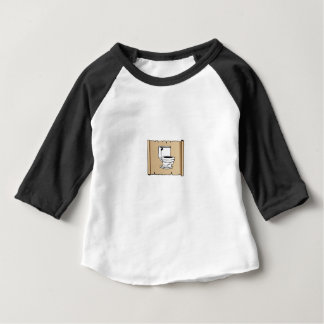 toilet on the scroll baby T-Shirt