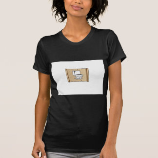 toilet on the scroll T-Shirt