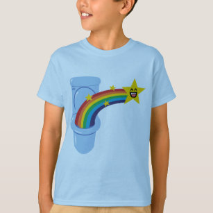 Toilet Rainbow T-Shirt