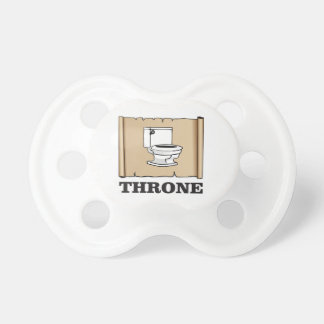 toilet throne fun baby pacifier
