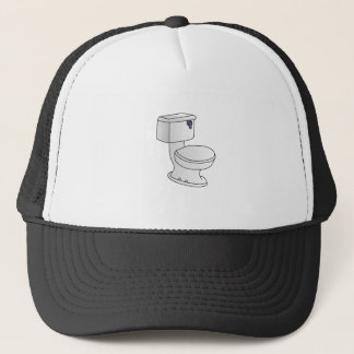 Toilet Trucker Hat