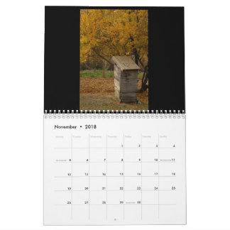 Toilets of Umbria Wall Calendar