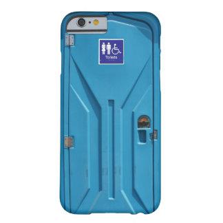 Toilette portative publique drôle coque iPhone 6 barely there